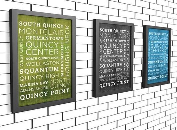 Quincy Poster 11x14