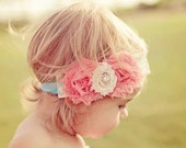 Baby Girl Headband- Baby Headbands- Newborn Headband-  Flower Girl Headband- Baby Hair Bow