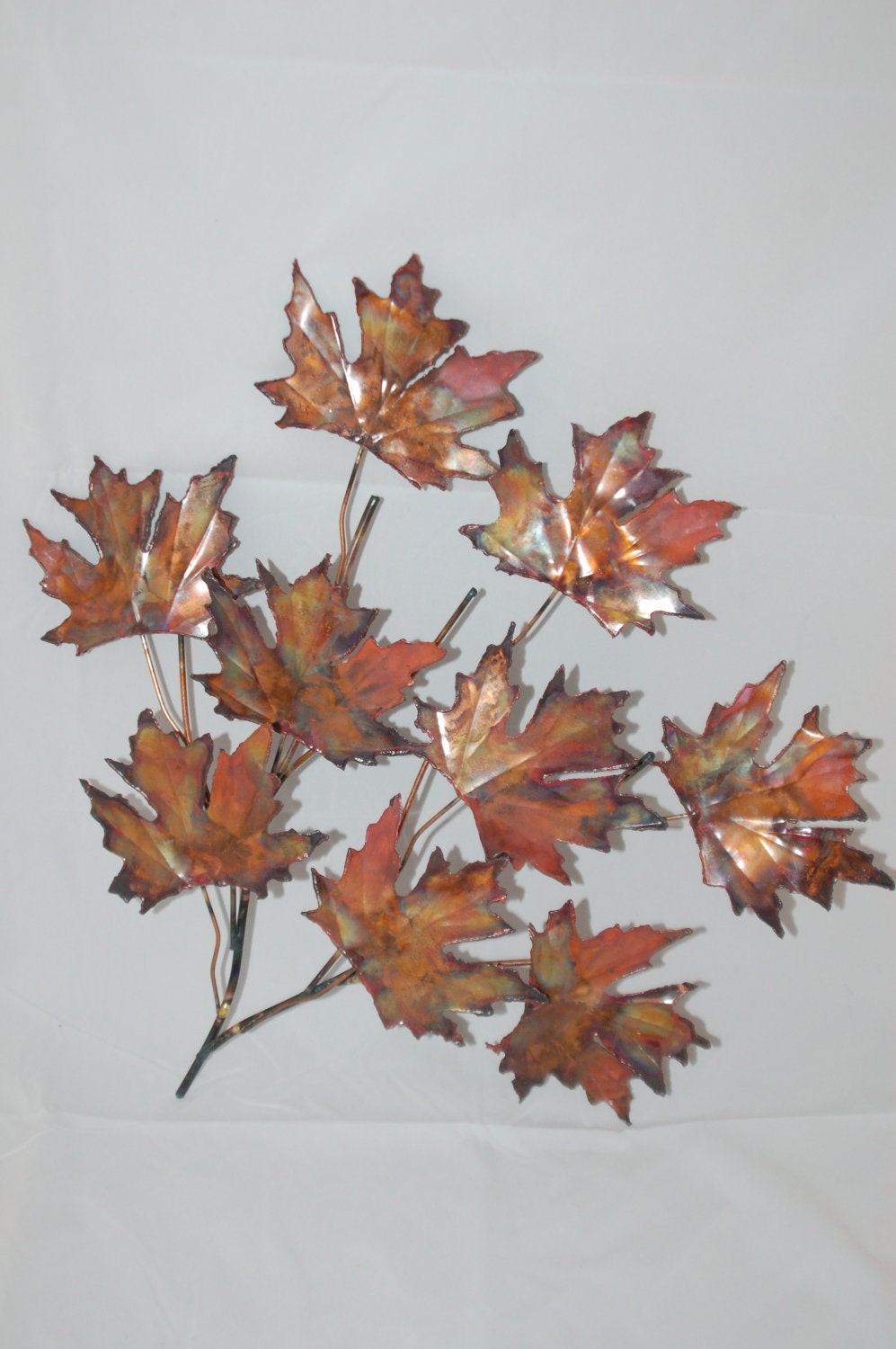Enchanting 70 metal leaf wall art decorating inspiration for Metal leaf wall art