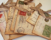 Tags with a Postcard Image