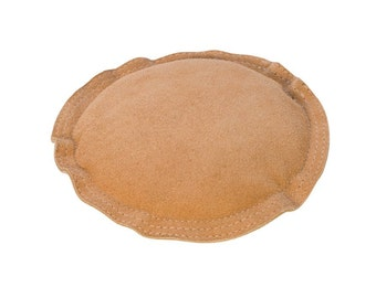 Round Leather Sandbag - Great for Noise Reduction