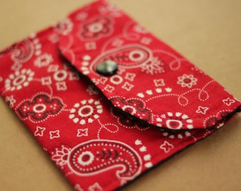Snap Wallet Pouch Sewing DIY PATTERN 2 sizes PDF Easy for Beginners