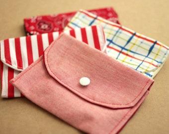 Easy Wallet Pattern in 2 sizes - Men Women Unisex - PDF Sewing Pattern