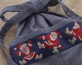 Apron Christmas Santas - CUSTOM LISTING FOR Connie DeHart