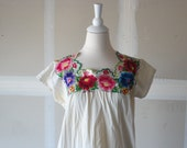 vintage mexican embroidered dress embroidered dress mexican dress mexican style dresses