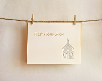 Communion Card Stone Chapel