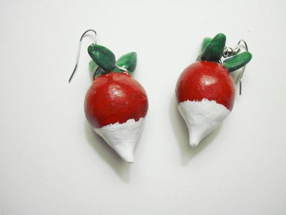 Radish Earrings Luna Lovegood