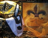 Drew Brees New Orleans Saints Fever 11x14 Limited Edition Print