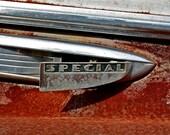 Fine Art Photography Automotive Rust Orange, 1941 Buick Special - 8x12