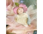 Flower Fairy  Art print   '  Star Born '