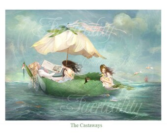 Fairy Print        '  The Castaways  '