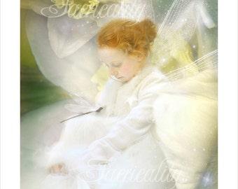 Fairy Print   ' Dreaming Daffodils'