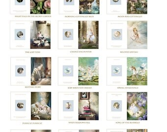 Set of 10  Fairy Greetings Cards by Charlotte Bird....Pick your own and send me a list of your choice