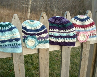 PDF 140 Crochet hat pattern