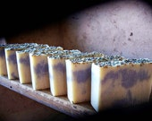 French Lavender Soap - Vegan soap With Kaolin Clay And Lavendar Essential oil, Cold Process Soap