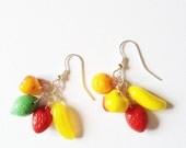 I Love Fruits Earring :)