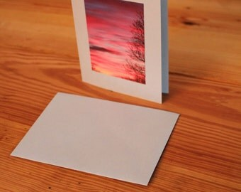 Fall Sunset Padanaram, Massachusetts Blank Note Cards Set of 5