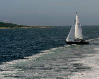 Nantucket Sailing 8 x 10 Photograph