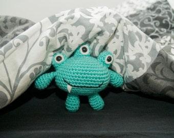 Amigurumi Little Bed Monster - Crochet Pattern