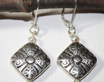 Metal Work Earrings