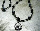 Obsidian-esque Necklace
