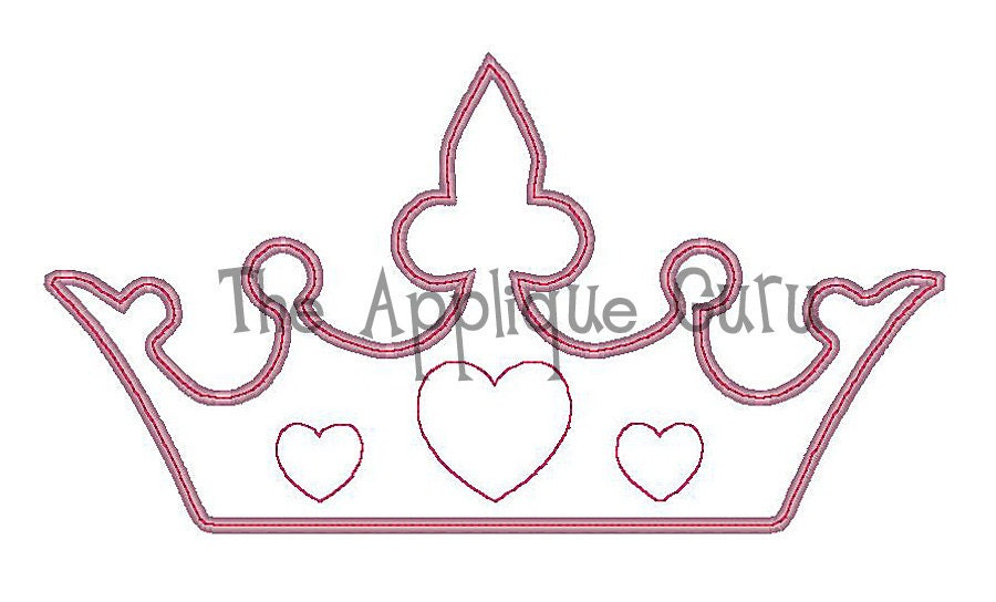 Princess Crown Template Pattern