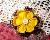 Fabric Flower : Japanese Blossom
