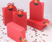 Elmo favor box (one dozen)