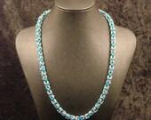 Turquoise Byzantine Necklace