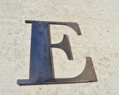Metal Letters 7 inch tall