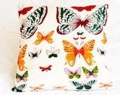 Butterflies Throw Pillow Cover