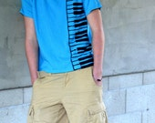 Piano Keyboard T Shirt - RavenPress