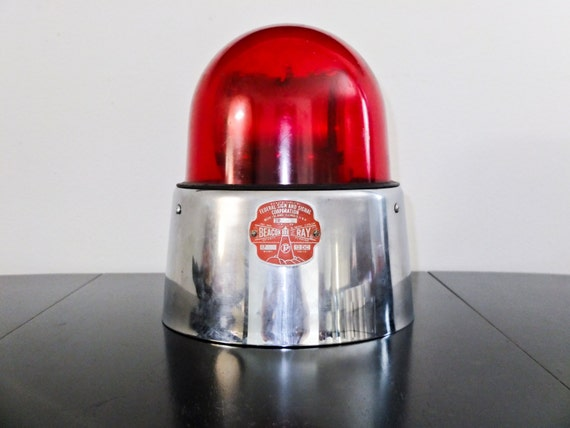 Vintage Working Beacon Ray Model 17 Federal Sign & Signal Corp.  Rescue Emergency Light