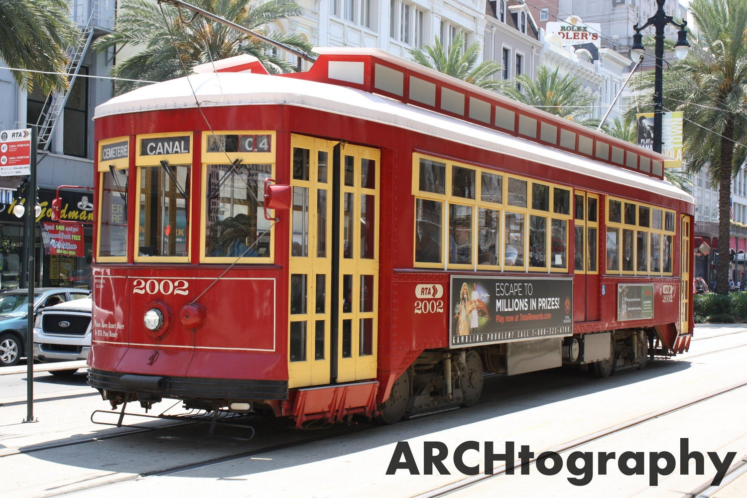 New Orleans Street Cars: New Orleans Streetcar New Orleans By Archtography On Etsy