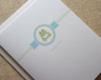 Baby Frog Thank You Card Set