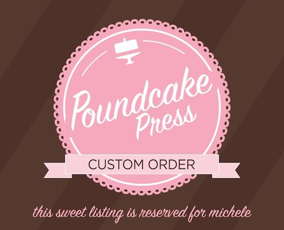 Custom Order - Bookmarks