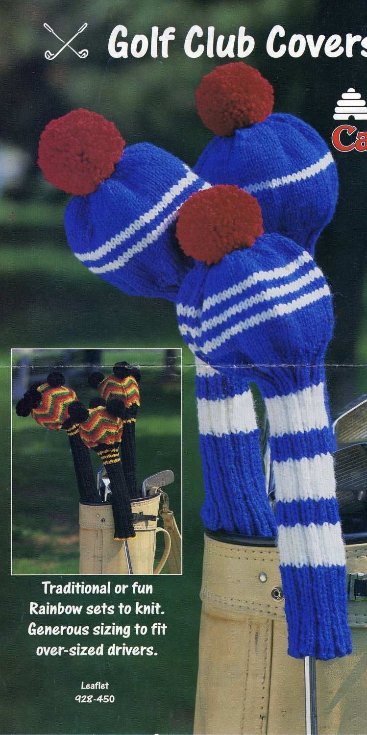 Knitted Golf Club Covers by Patons Canadiana by Annsbells ...