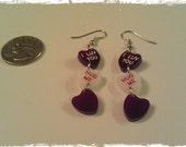 Candy Hearts Earrings