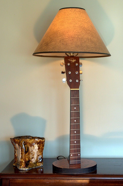 Guitar lamp for Objets de la maison