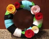 Yarn Wreath - Reserved