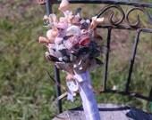 Custom Sea Shell Bouquet/ Love edition