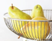 RESERVED for Deanne: Silver Plated Metal Vintage Wire Fruit Bowl Kitchen Houseware