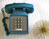 Vintage Blue Telephone AT&T