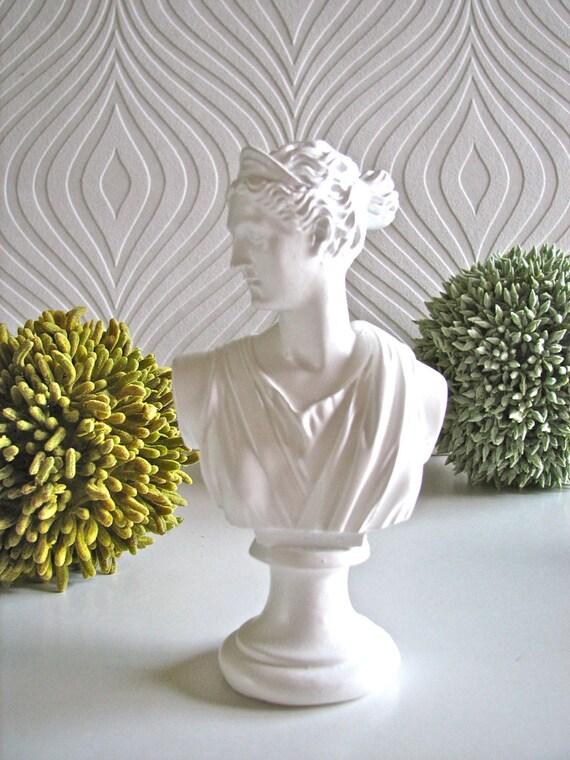 Diana Bust Statue Mini Size