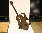 Guitar Wine Rack, 3 Bottle Holder, Music