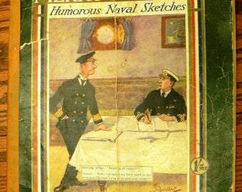 vintage funk ... 1916 MERRY MARINERS humorus NAVAL sketches...