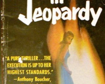 vintage paperback ... SPINSTERS IN JEOPARDY by Ngaio Marsh ...