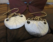 RESERVED FOR REBECCA-----Two Tone Earrings