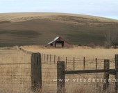 PALOUSE COUNTRY studies 3 - Fine Art Photograph, 4x6 matted, ready to frame or use as a greeting card - In Stock