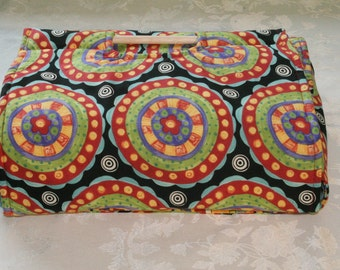 Insulated Casserole Carrier - Bright Circles and Stripes, perfect for MOTHER'S DAY